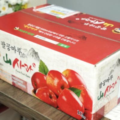 [팔공마루] 홍로사과 10kg(46과내외) 가정용